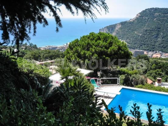 Villa Finale Ligure - Vista sulla piscina