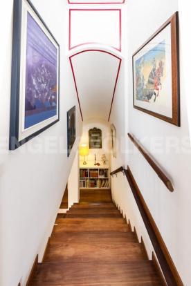 Arenzano Pineta - Zugang zum Dachgeschoss Penthouse