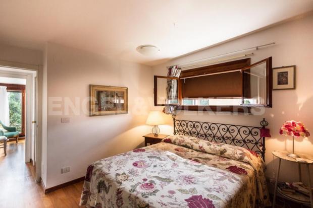 Arenzano Pineta - Penthouse, Hauptschlafzimmer