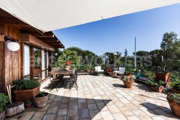 Arenzano Pineta - Penthouse, Terrasse