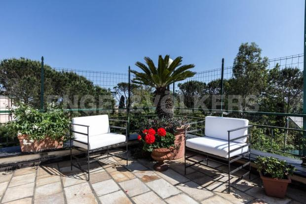 Arenzano Pineta - Penthouse, Terrasse Detail