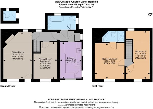 Oak Cottage Floor pl
