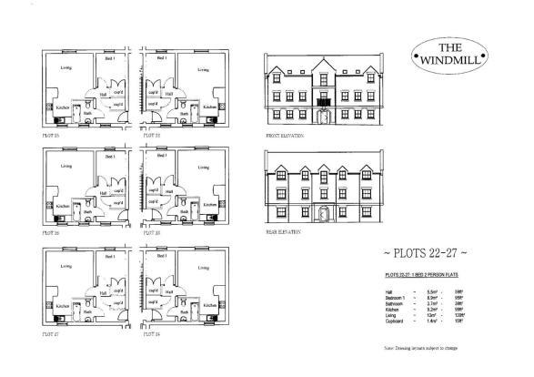 Plots 22-27 Floorpla