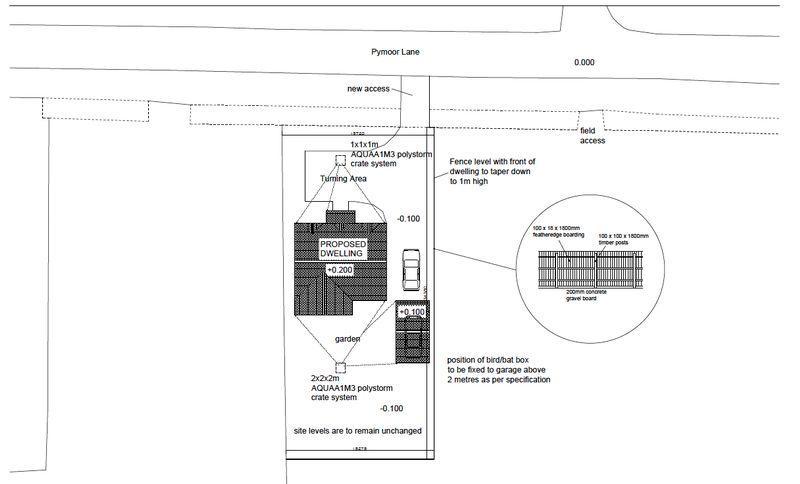 Site Plan of B...