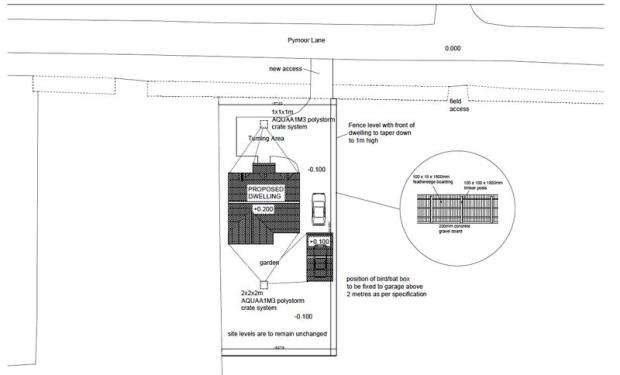 Site Plan of B...