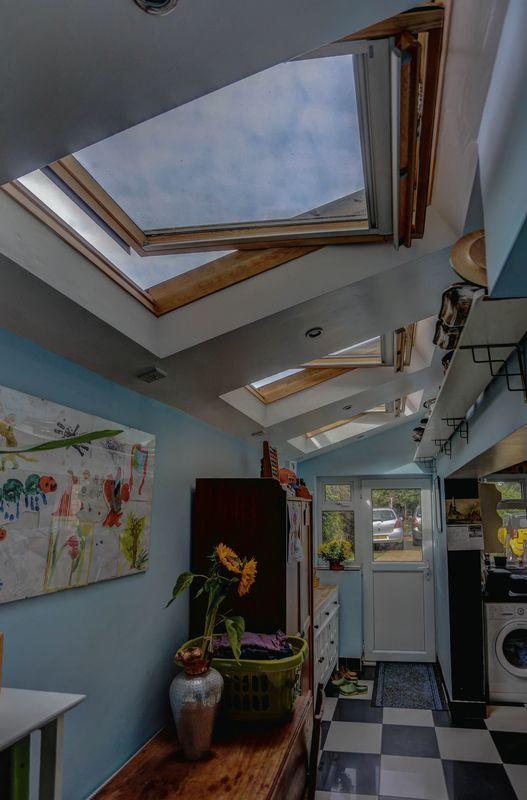 Glazed roof
