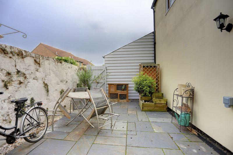 Courtyard rear...