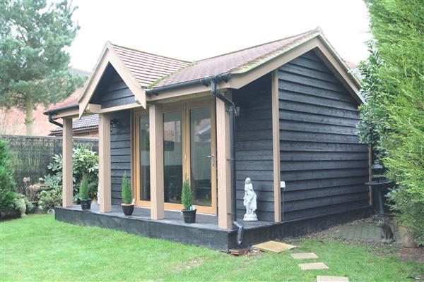Oak Timber Framed Office