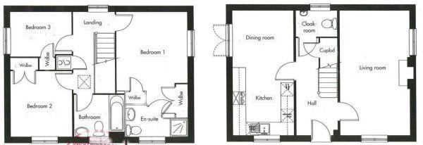 Floor plan minus conservatory