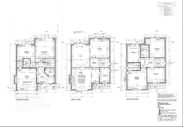 Plot 1 Floor Plan...