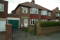 semi detached home for sale in Stocksfield Avenue...