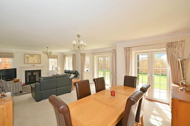 Sitting Room with Dining Area