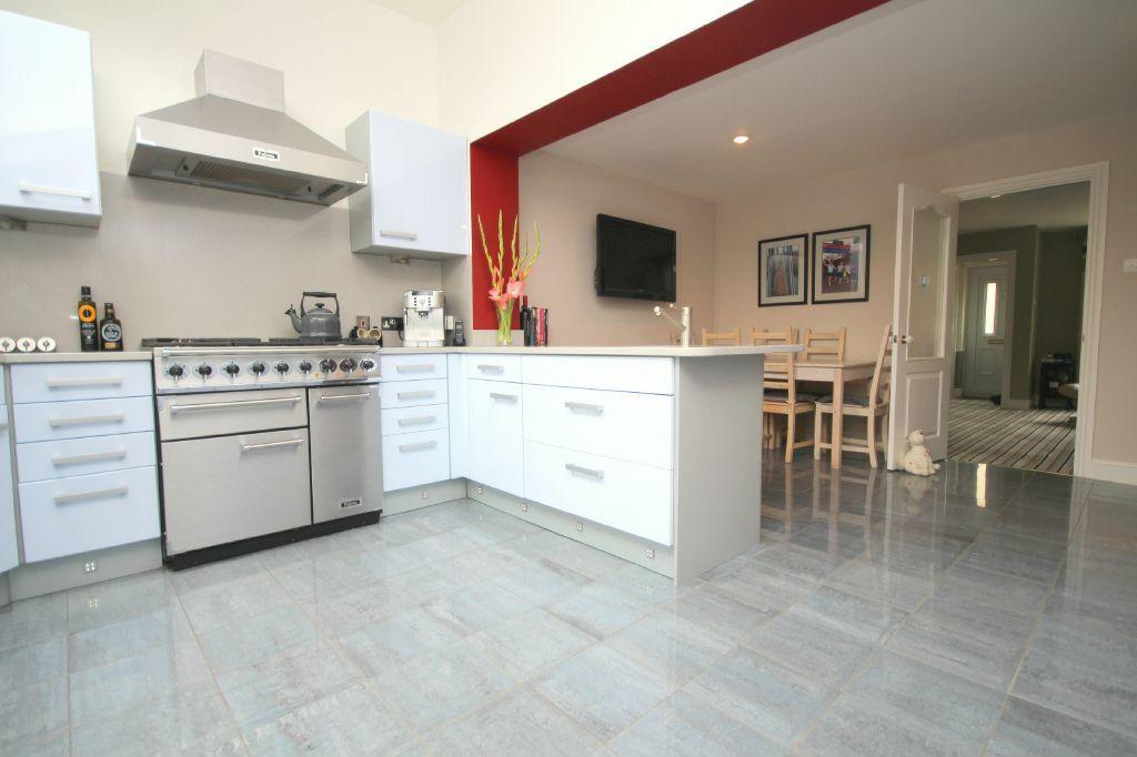 The Vaulted Kitchen Area