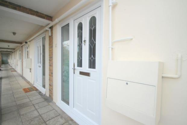 Covered Entrance & Front Door
