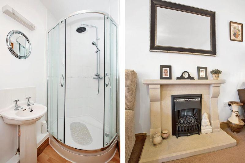 Shower/Fireplace