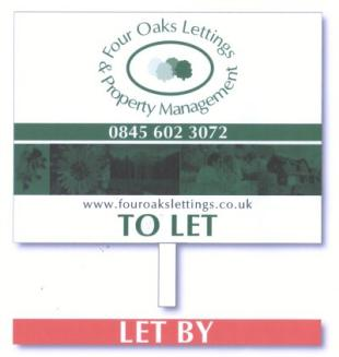 Four Oaks Letting & Property Management Ltd, Sutton Coldfieldbranch details