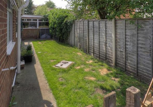 Rear Garden Photo