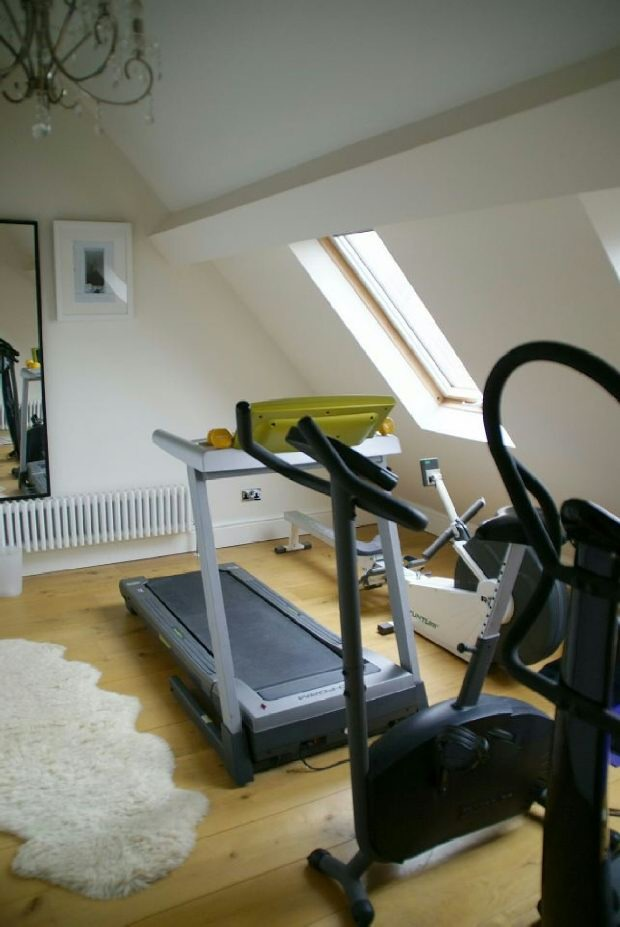 Mezzanine Gym Area