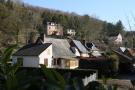 House on hillside
