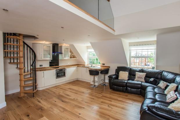Apart lounge/kitchen