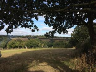 property for sale in SINGLE BUILDING PLOT WITH c. 4.5 ACRES, PERRANWELL STATION, Nr TRURO & FALMOUTH, TR3
