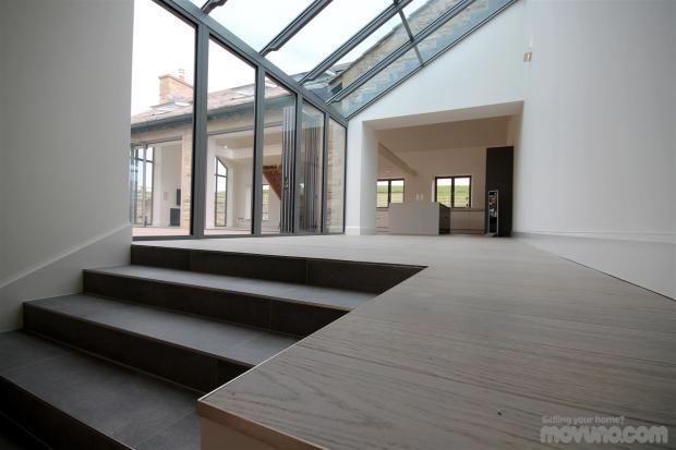 Vaulted Hallway