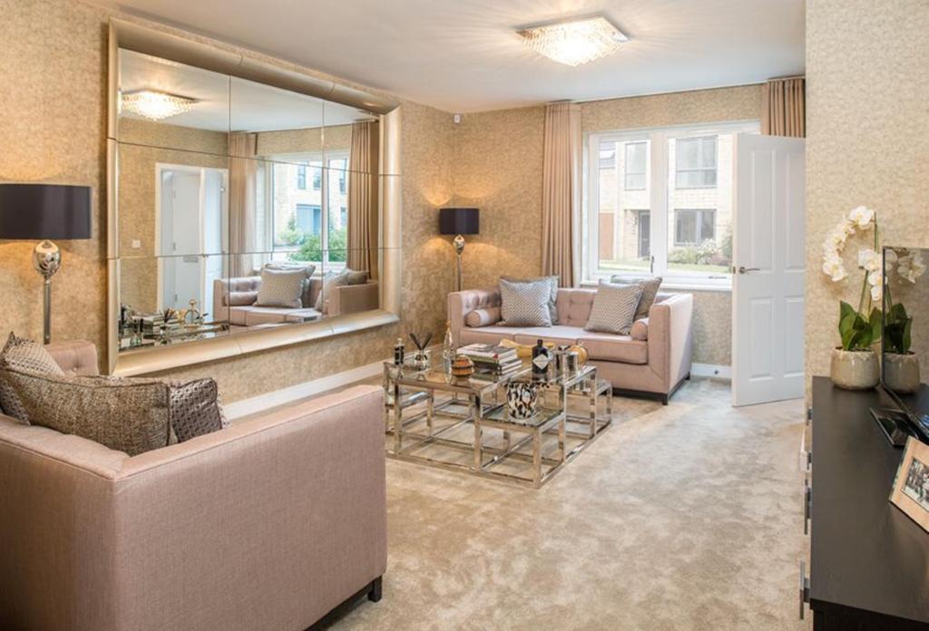 Oakwell Grange Show Home Lounge