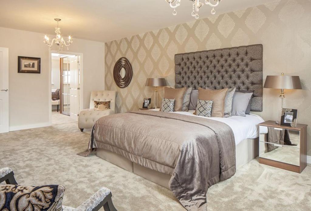 Oakwell Grange Show Home Master Bedroom