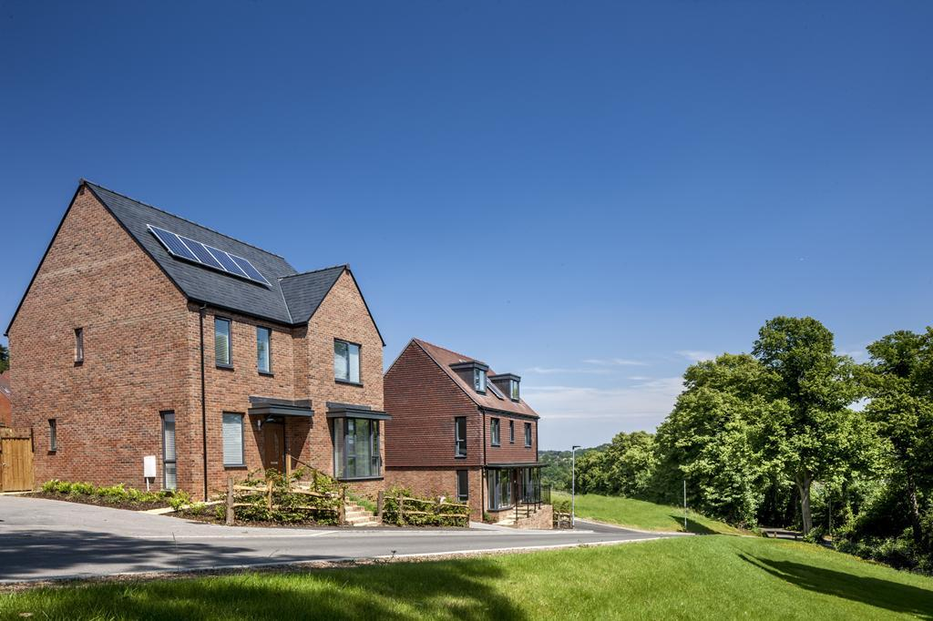 Beautiful homes at Cane Hill Park, Coulsdon