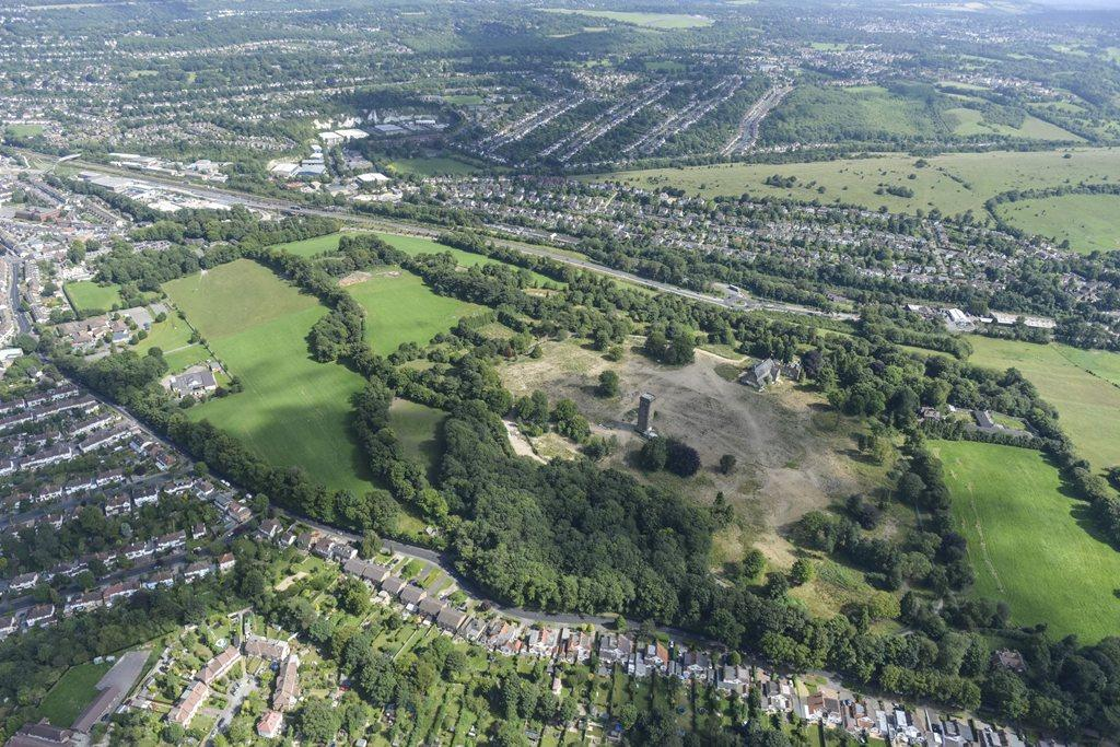 Cane Hill Park, Coulsdon overview