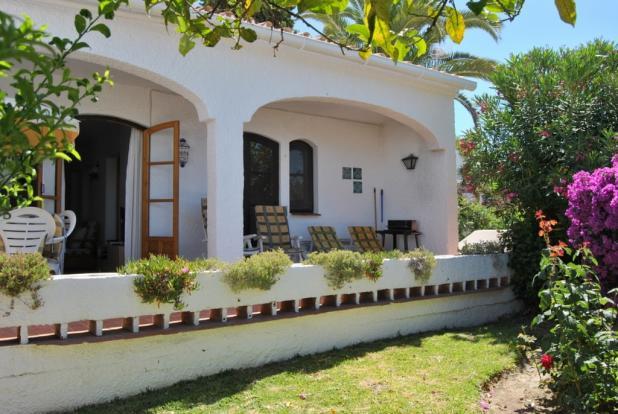 Terrace from garden
