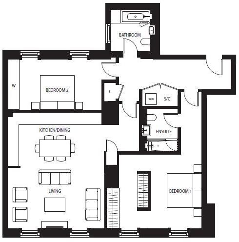 Apartment 63
