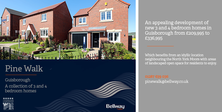 Bellway Homes Are Delighted To Introduce Pine Walk A Collection Of 2 3 And 4 Bedroom Family Situated In The Historic Market Town Guisborough