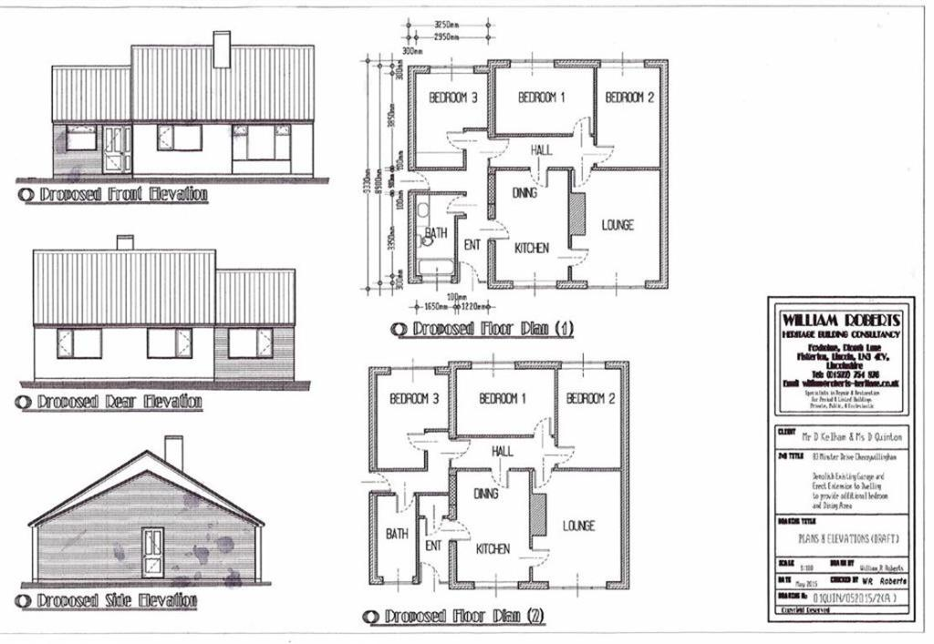 Plans for extension
