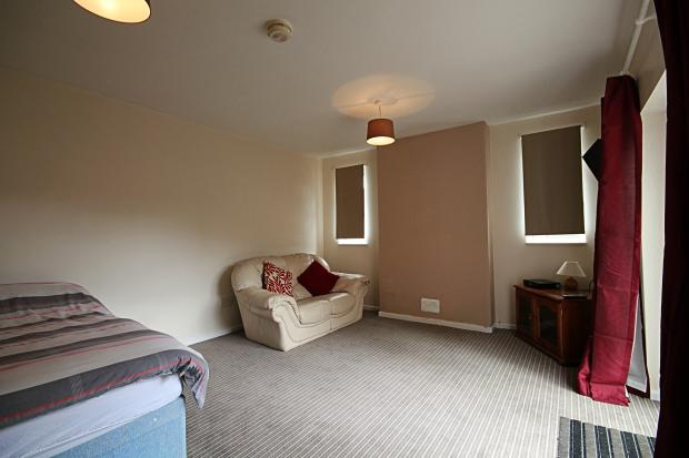 Bedsit Living area