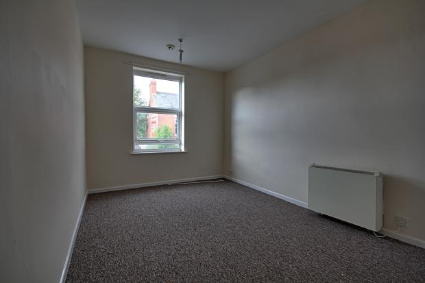 Bedroom in first floor flat