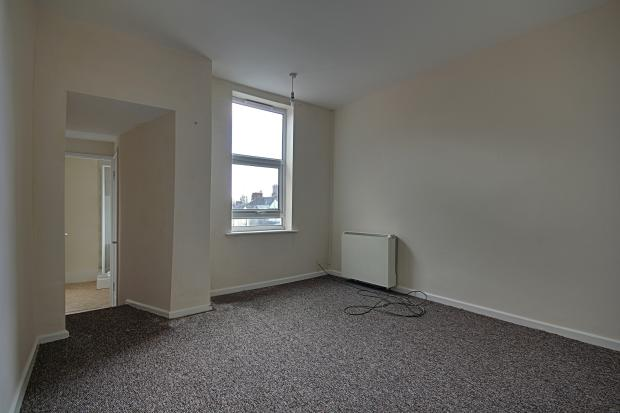 Living room in first floor flat