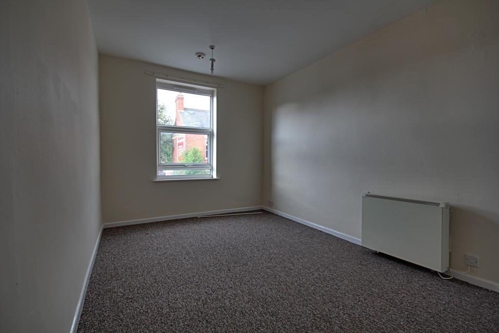 Bedroom in first floor appartment