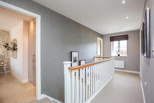 Actual Image of The Chelford Showhome at Bramley Wood