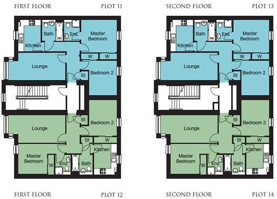 Beech floor plan