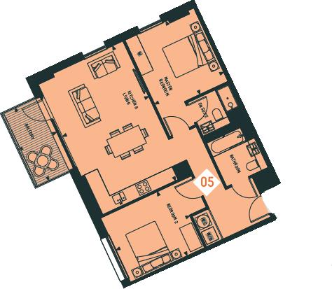 Apartment 5, 4F,CV