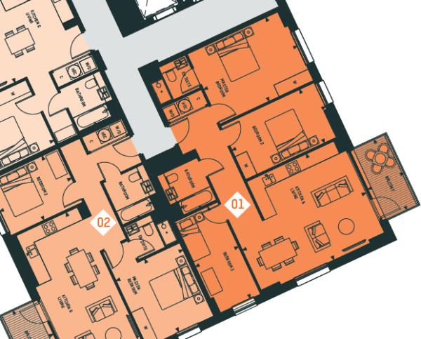 Apartment 1, 7F, CV