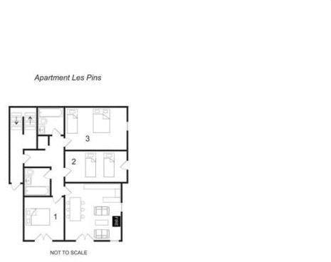 Floor Plan Les pins