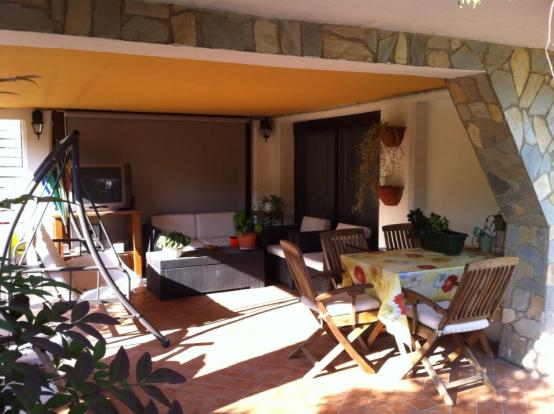 BBQ area/Veranda