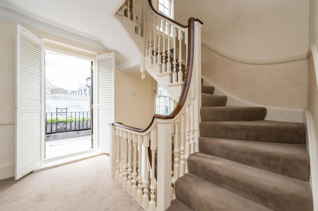 Staircase and Patio