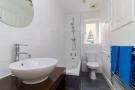Three piece bathroom suite