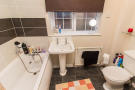 Three piece bathroom suite