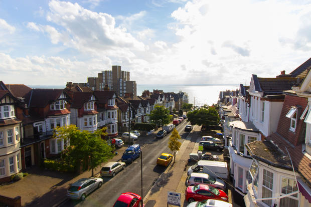 Views towards the estuary