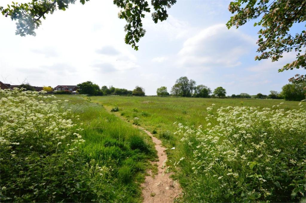 Fields behind