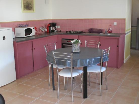 Gîte Kitchen